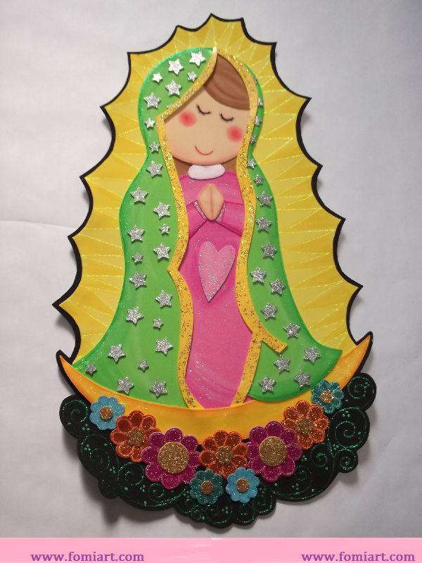 Virgen María en fomi | Fomiart