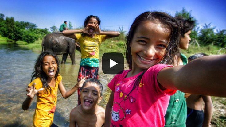 #Nepal #people took their first #Selfie with Devin Graham, #video by devinsupertramp.