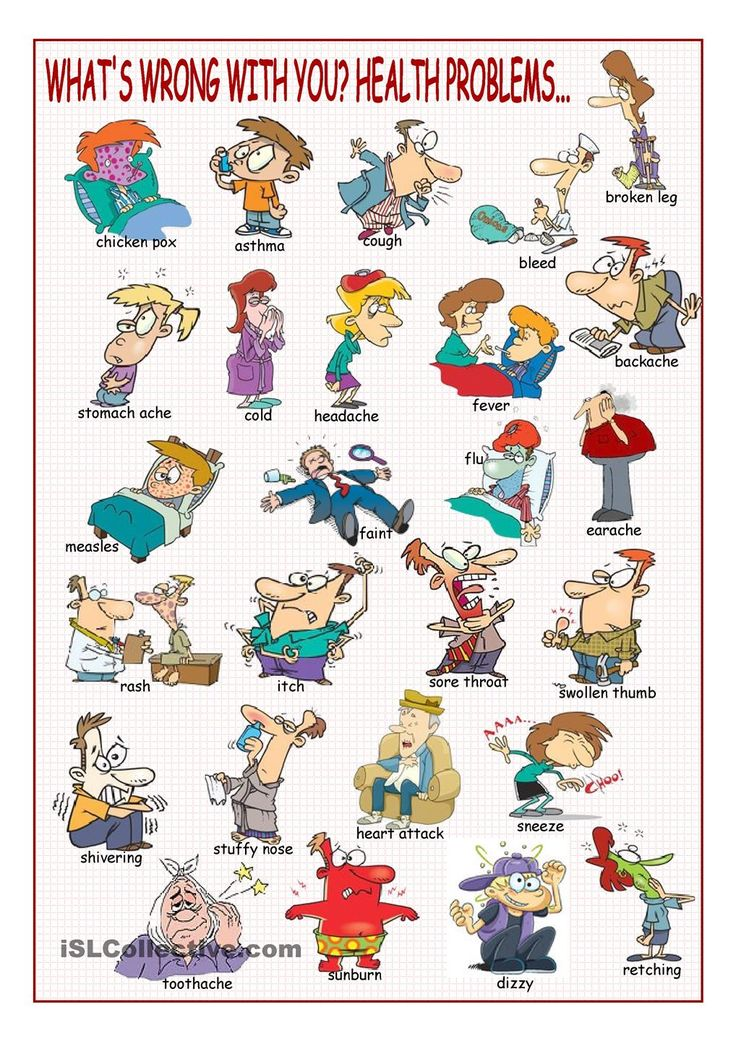 Whats Wrong with You? (Health Problems Picture Dictionary)