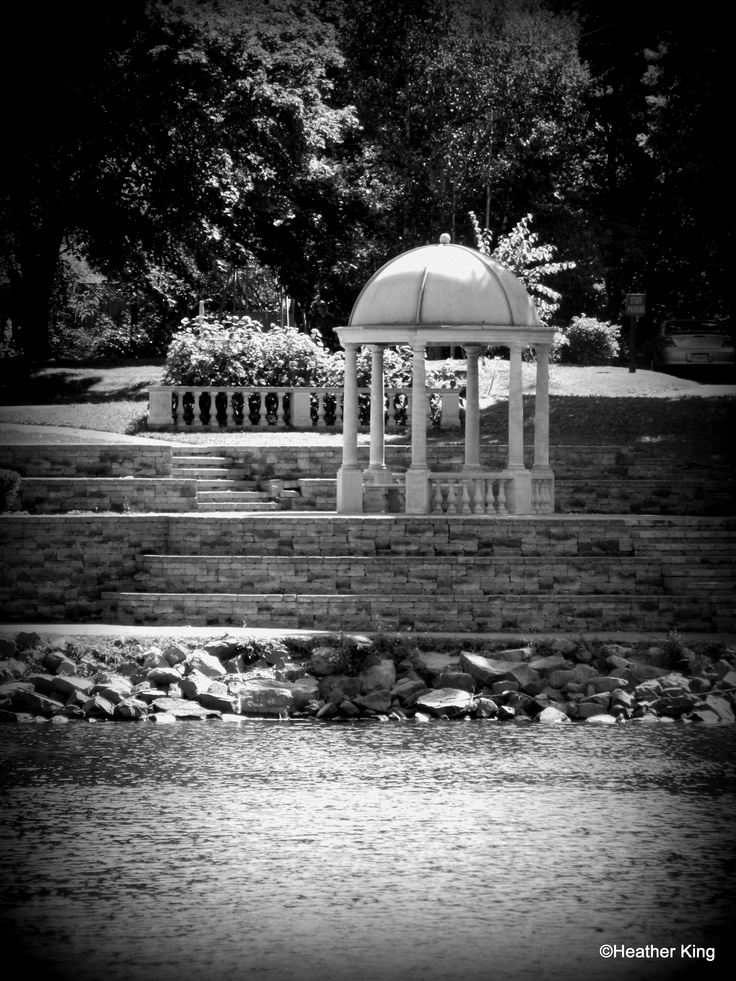 Gazebo at Wentworth Park, Sydney, Nova Scotia, Canada
