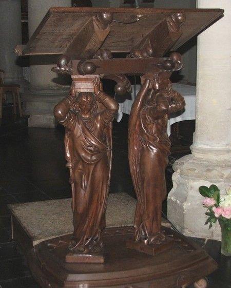 Pupitre de l'église Saint Martin de Feignies
