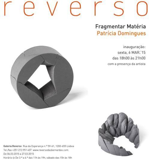 Exposição Fragmentar Matéria de Patrícia Domingues