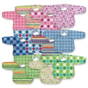 i play Best Long Sleeve Waterproof Bib - Stage 5 (2-4y) - Assorted Colors