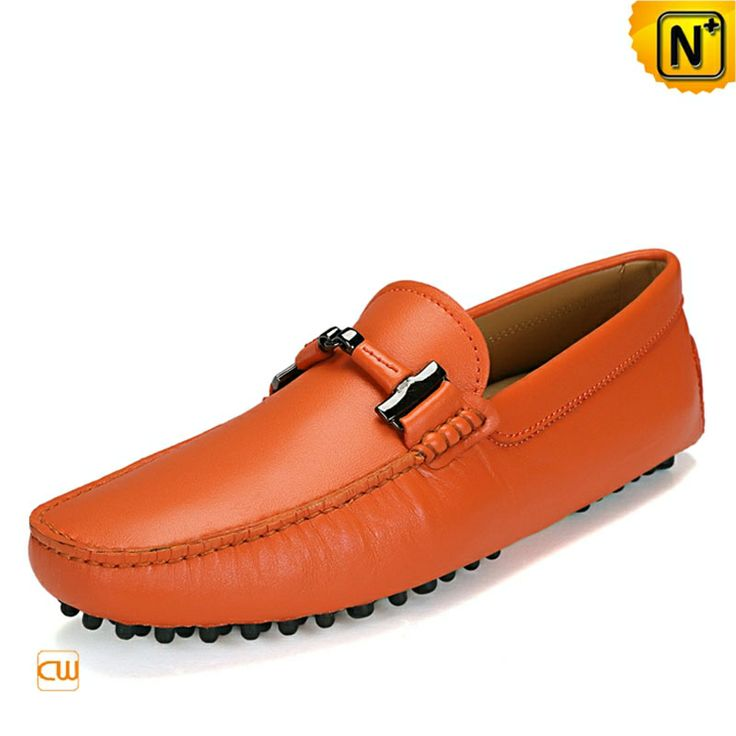 Slip on Driving Leather Loafers for Men CW740039 $157.89 - www.cwmalls.com Fashion comfort slip on driving leather loafers for men made of smooth leather with moccasin construction, these slip on style leather driving shoes