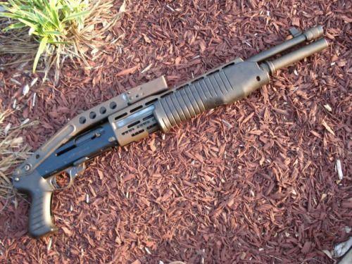 You're not bulletproof..., Franchi SPAS-12 A shotgun that is loved, hated...