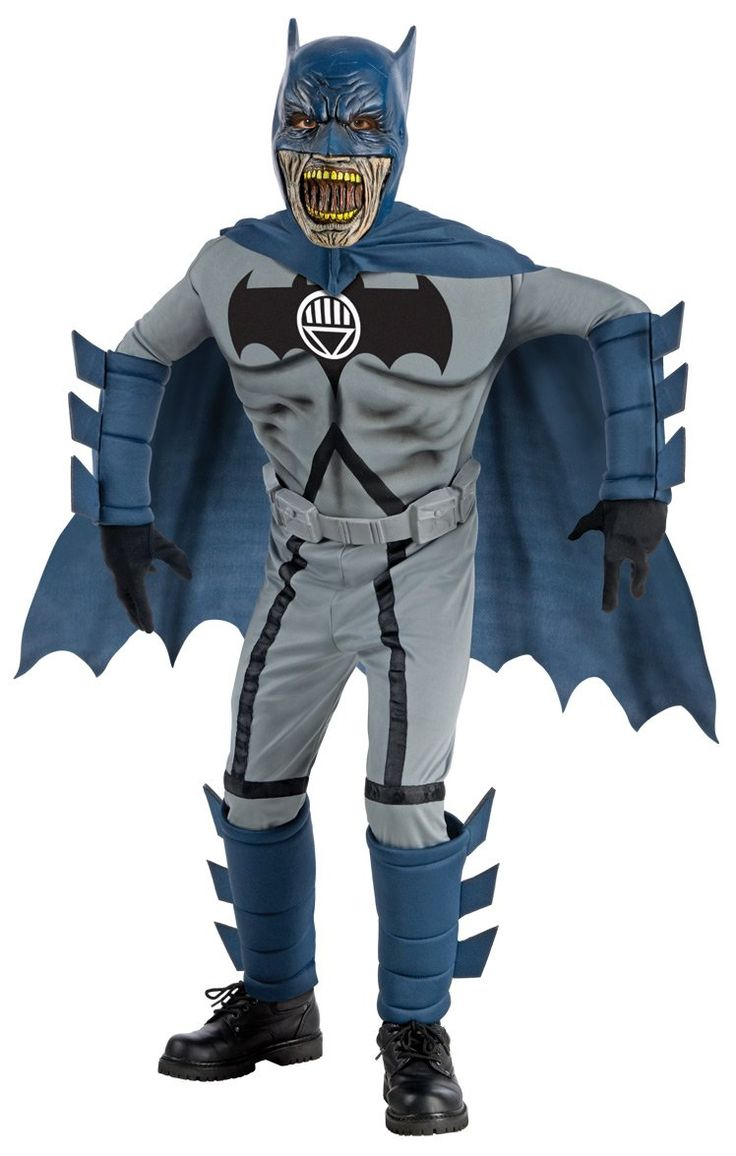 How to make your own female sonic character ehow - Batman Blue Deluxe Zombie Costume Child