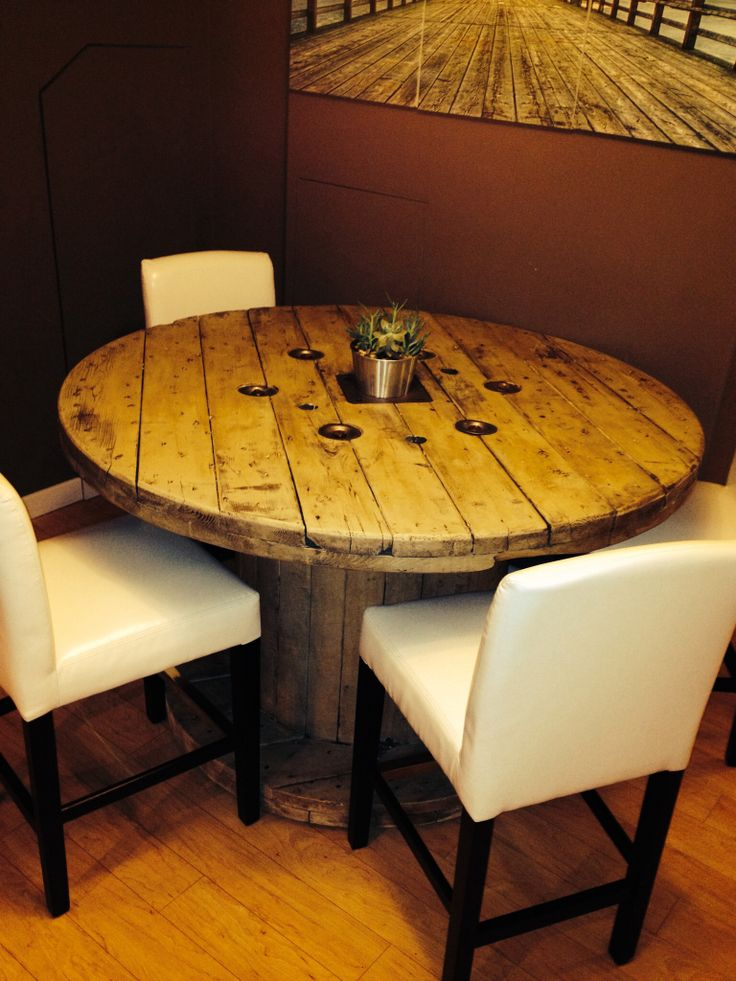 10 ideas about spool tables on pinterest wooden spool for Cable reel table