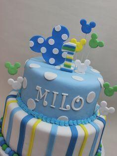 cupcakes mickey bebe - Buscar con Google