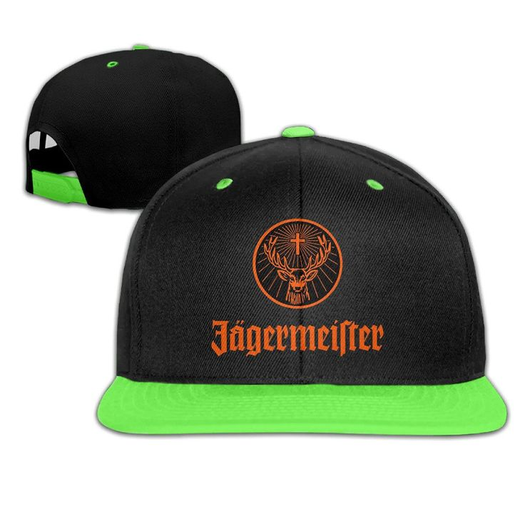IEEFTA Jagermeister Logo Adjustable Snapback Hip-hop Baseball Hat For Kids. 100% Cotton Twill. ? Light Unbound, Exquisite, Four-wire Stitching, More Durable,. Small Wash Hand Wash Recommend Appropriate Pressure Can Not Rub Machine Wash!. Imported. Shipping Fast.