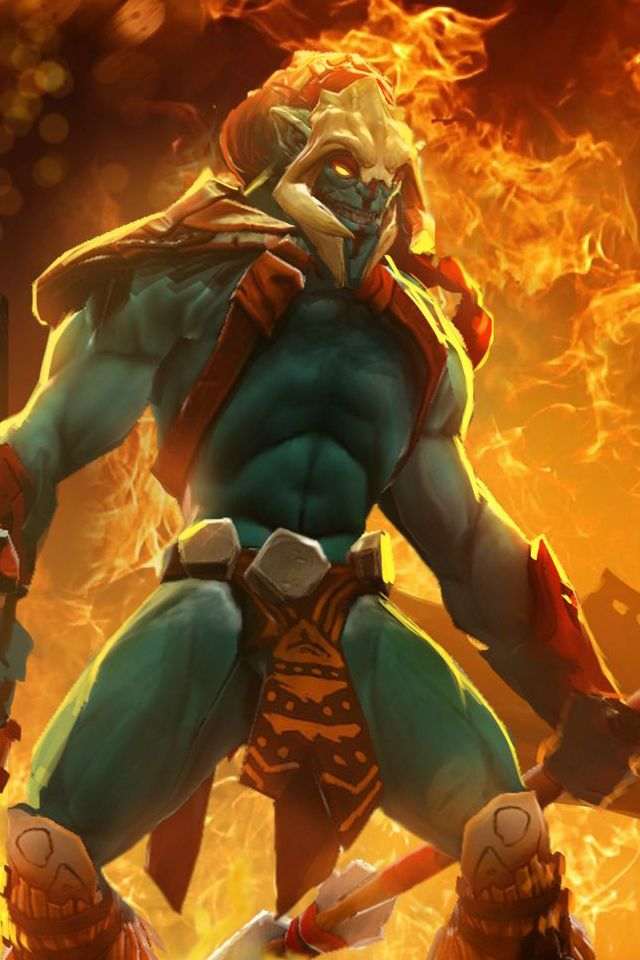 #DOTA Sentinel Strength_Sacred Warrior (Huskar)