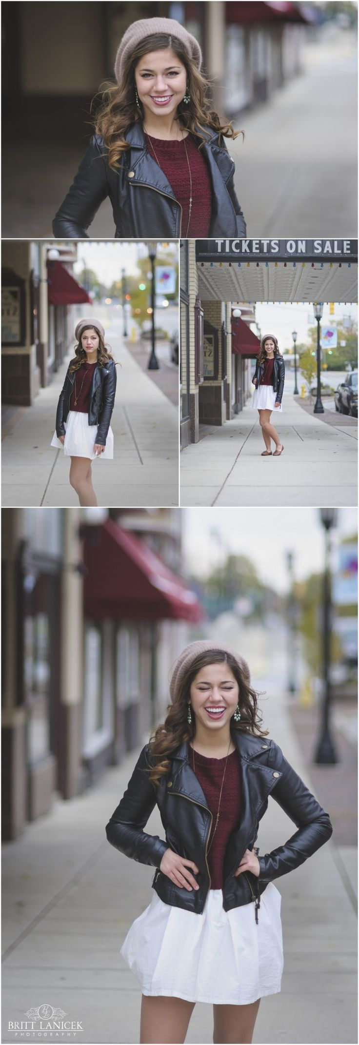 Modern Senior Pictures | Downtown Senior Portraits | Custom Senior Pictures by Britt Lanicek Photography in Tiffin, Ohio. http://www.brittlanicekphotography.com
