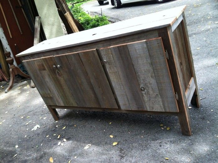 Reclaimed Wood Media Console: Custom from Urban Mining Co (Bay Area) - 8 Best Counter Images On Pinterest