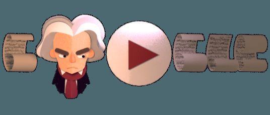 Βοηθήστε τον Μπετόβεν να βάλει στη σειρά τα αριστουργήματά του στο σημερινό  #GoogleDoodle