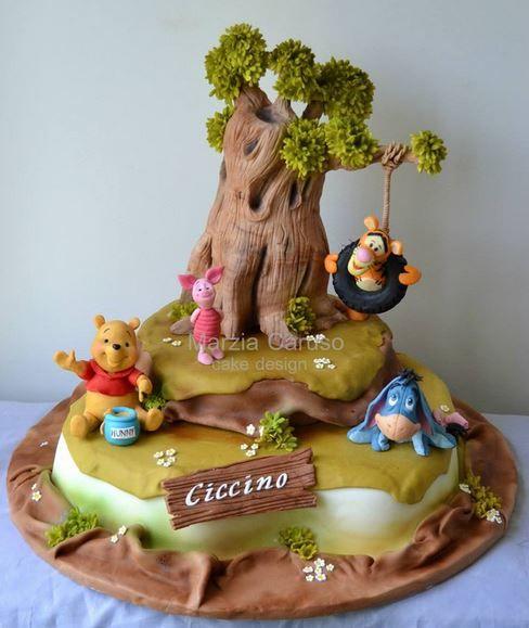 24 besten winnie the pooh cakes bilder auf pinterest for Winnie pooh kuchen deko