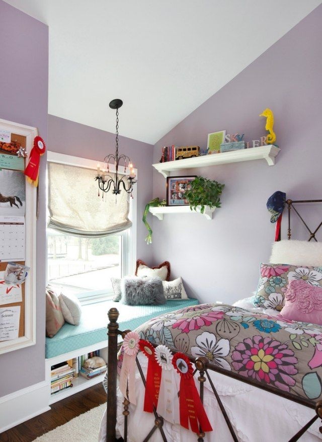 Die besten 25+ Wandgestaltung lila grau Ideen auf Pinterest - farbe grau visuelle effekte interior