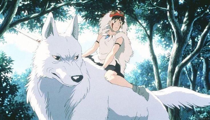 """/Księżniczka Mononoke --*-- Choć """"Księżniczka Mononoke"""" w reżyserii Hayao Miyazaki jest filmem animowanym, lecz doprawdy trudno polecić go dzieciom. Ta japońska produkcja narusza bowiem nasze przyzwyczajenia odbiorcze do tego stopnia, że przysparza problemów z określeniem do jakiej grupy widzów jest skierowana."""