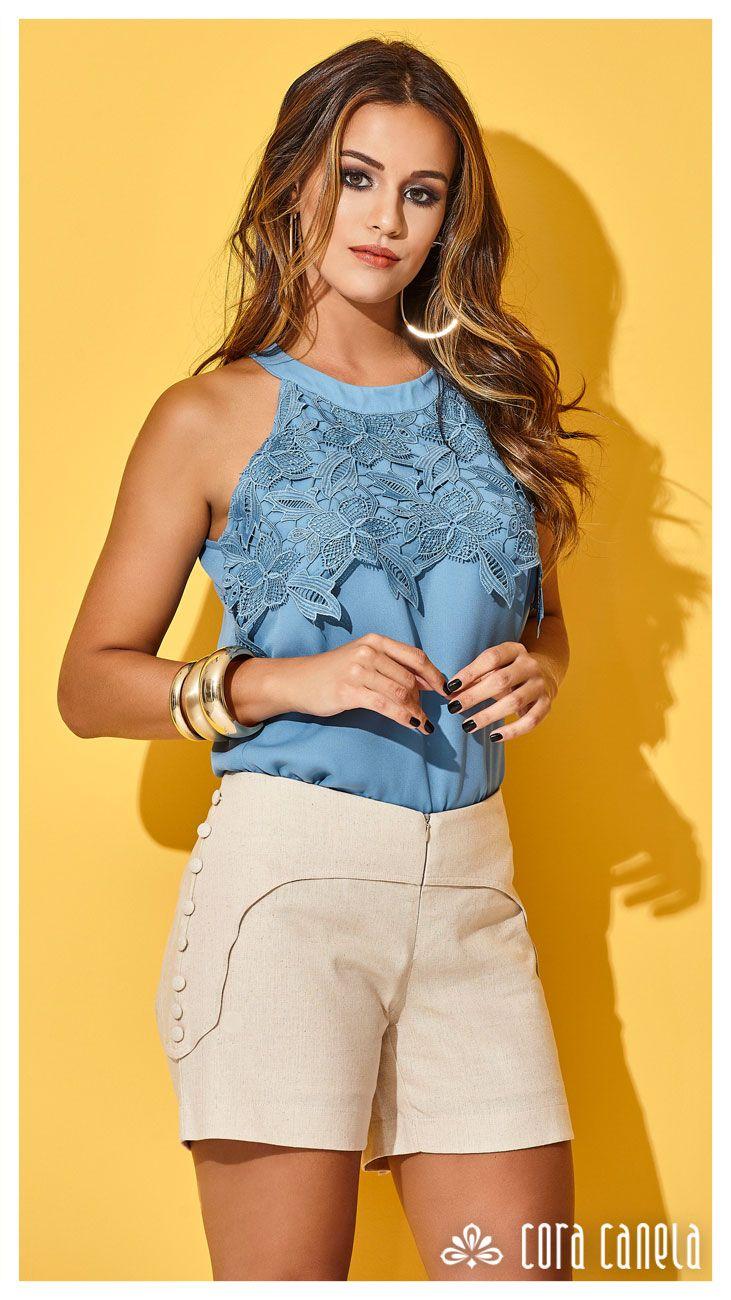 c1aa8915c Cora Canela | Moda Feminina | western outfit em 2019 | Roupas femininas,  Roupas jeans e Vestidos de verão
