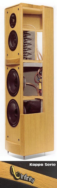 Infinity Diy Speakersspeaker Designaudio Roomloudspeakeraudiophiletheatreproject Ideasinfinitycabinets