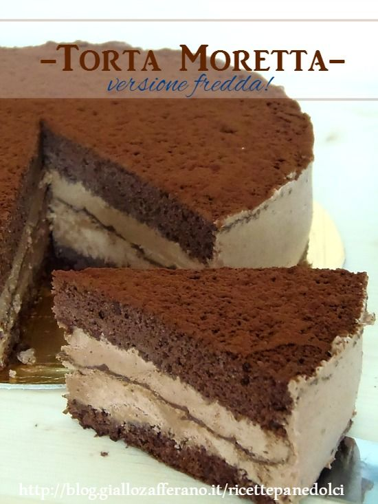 torta moretta fredda