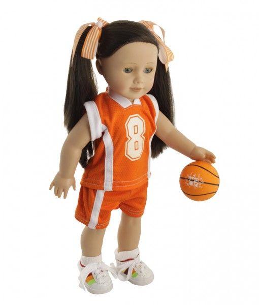julia-jugando-basket. Entrega a todo México #muñecas #dolls #niñas