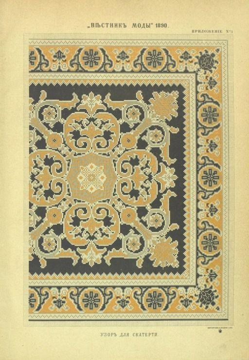 Gallery.ru / Φωτογραφία # 17 - Δελτίο μόδας 1890 - somerset24