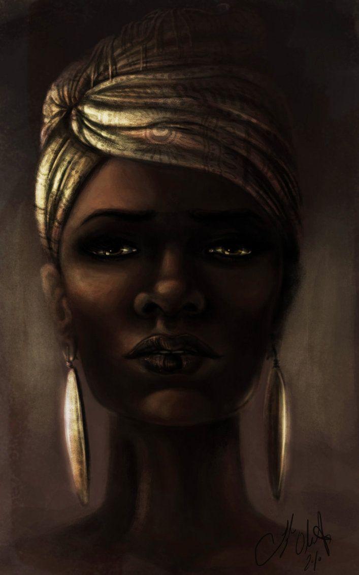 Beautiful Black Woman  by ~Tyleen--Deviant Art