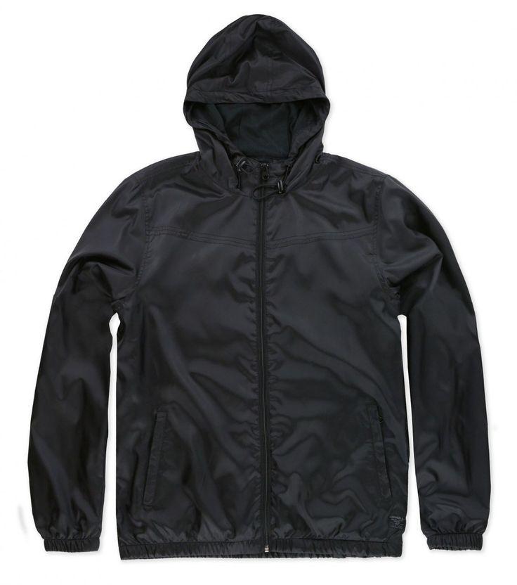 Oneill Capitola Men's Black Windbreaker Jacket