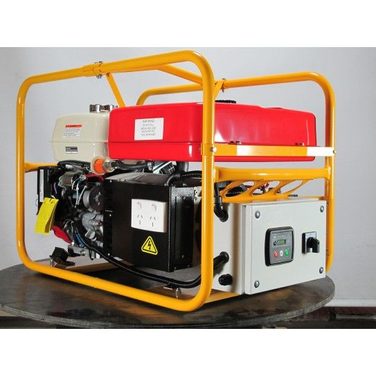 Powerlite Auto Start, Honda Powered, Three Phase 8.0 KVA. When it comes to backup power for the home or off-grid solar system, this three phase auto start generator shows 'em who's boss. Built and tested by Australia's leading manufacturer of portable generator sets Powerlite, it is packed with rugged features to deliver dependable power that meets your needs.