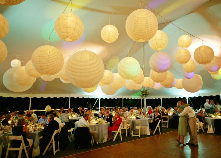 83 best wedding lanterns lights images on pinterest wedding those wedding paper lanterns and string lights are just so perfect for this event what a marvelous wedding decoration idea junglespirit Choice Image