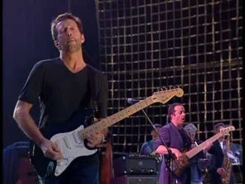 Eric Clapton - Old Love (Live in Hyde Park 1997) Oye mi guitarra!.Si oyes puedes oir la lluvia ahora? Puedes oir?