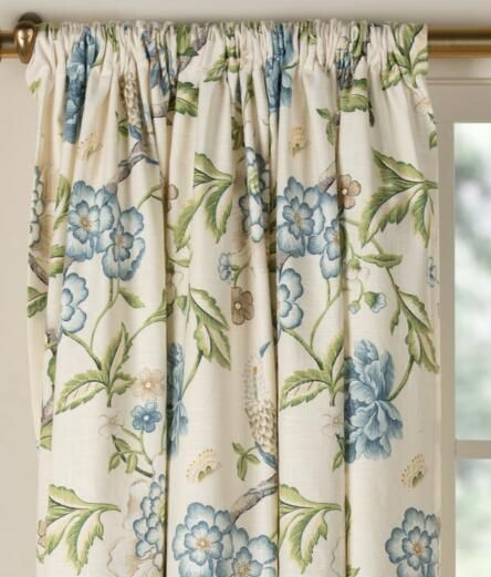 Bird in Paradise Lined Rod Pocket Curtains - Pair Was: $269.95 - $299.95 Now: $134.99 - $209.99