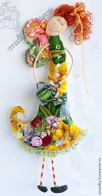 Коллекционные куклы ручной работы. Ярмарка Мастеров - ручная работа мадам Поливай :). Handmade.