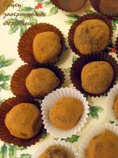 Τρουφάκια σοκολάτας – κάστανου με ζαχαρούχο γάλα | Κρήτη: Γαστρονομικός Περίπλους