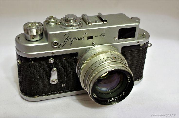 Zorki 4 (Krasnogorsk) - 35mm film, rangefinder camera (1956-1973)