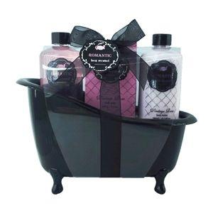 Idée cadeau pour Noel - 9.90€ sur Placedubonheur - Coffret cadeau baignoire pour le bain Romantic Fleurs de Roses Vintage