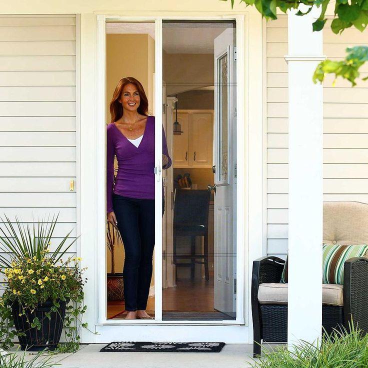 Install a retractable screen door in less than 30 minutes for Single sliding screen door
