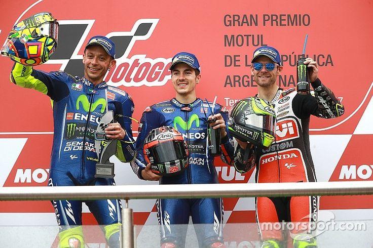 【MotoGP】Round2 アルゼンチン決勝:ビニャーレス連勝。ホンダ勢揃って転倒。YAMAHA 1-2 Finish!