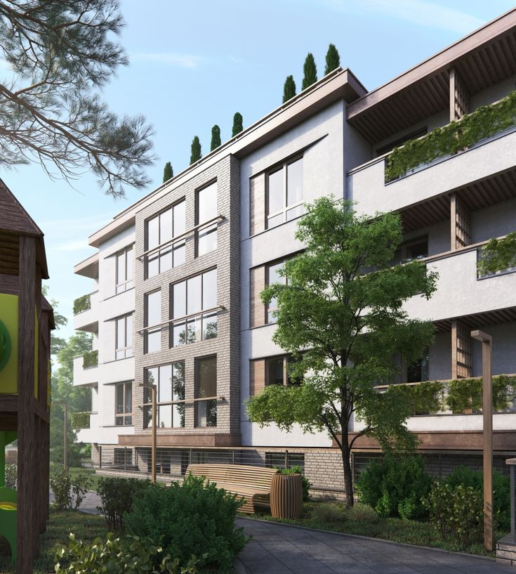 Apartment in the seaside resort. Kaliningrad region - Галерея 3ddd.ru