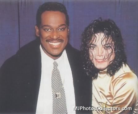 Luther Vandross and Michael Jackson
