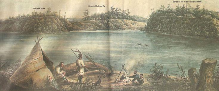 Native History in the Ottawa, Ontario, Canada Area