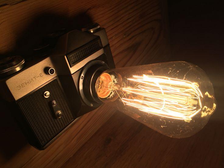 Nowa lampka do piwnicznego pokoju :)