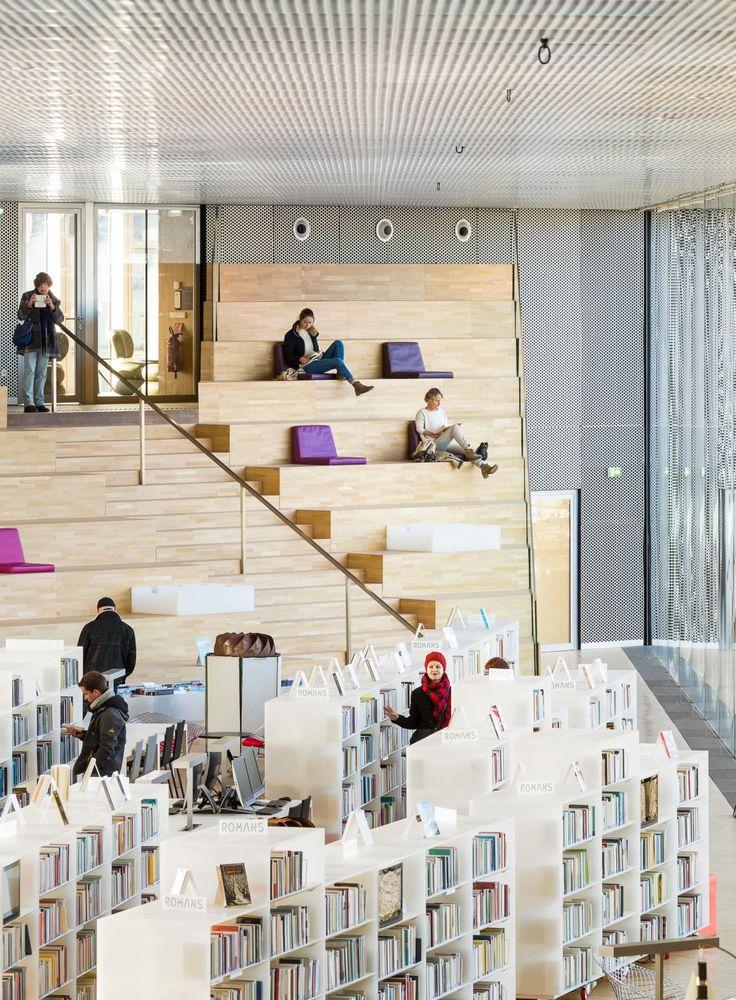 OMA - Office of Metropolitan Architecture, Sergio Grazia, Luc Boegly · Bibliothèque Alexis de Tocqueville