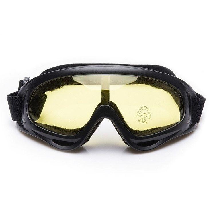 Snowboard Snowmobile Anti-fog Goggles Windproof UV 400 Ski Sunglasses