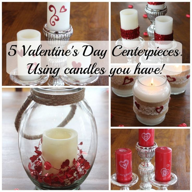 Valentine Candle Centerpiece : Best images about momcrieff diy helpful hints on