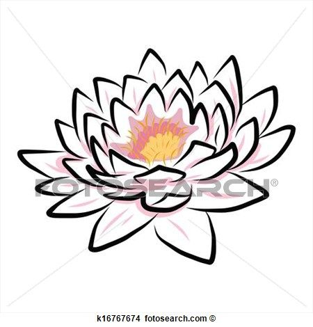Lotusbloem tekening boeddhisme google zoeken buddha lotusbloem tekeningen boeddhisme en - Nenuphar dessin ...