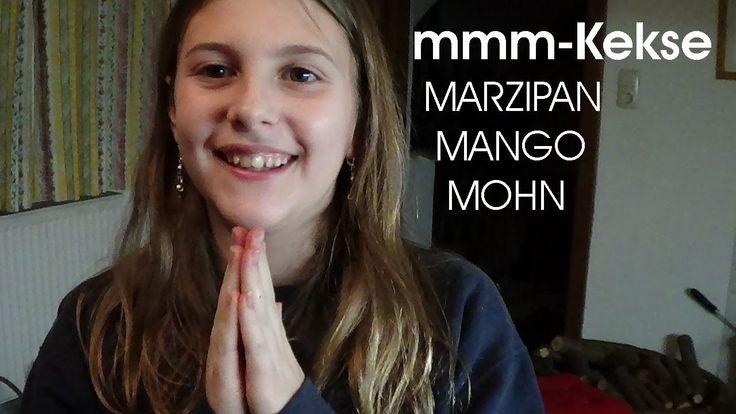 Mirakuli´s mmm-Kekse (Mango, Marzipan, Mohn) - Rezept