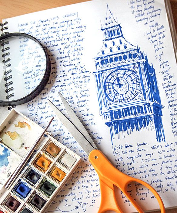 A Life of Journaling for David Cook; Pen, Lens, and Paintbrush | Go Creatively