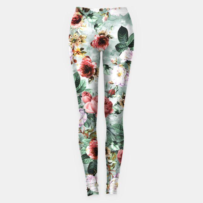 Rpe Seamless Floral Pattern I Leggings #floral #fashion #pattern #spring #summer #design