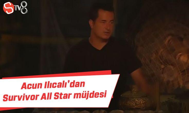 Acun Ilıcalı'dan Survivor All Star müjdesi #acunılıcalı #survivorallstar #tv8