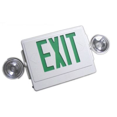 17 best ideas about emergency exit signs exit sign nicor lighting 2 light emergency exit sign